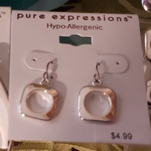 Pure Expressions Jewelry - (Lot 75) Women's Earrings from Pure Expressions